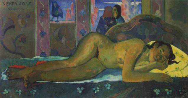 Paul Gauguin - Nevermore (1897) Nevermorepsychologynowgr es10
