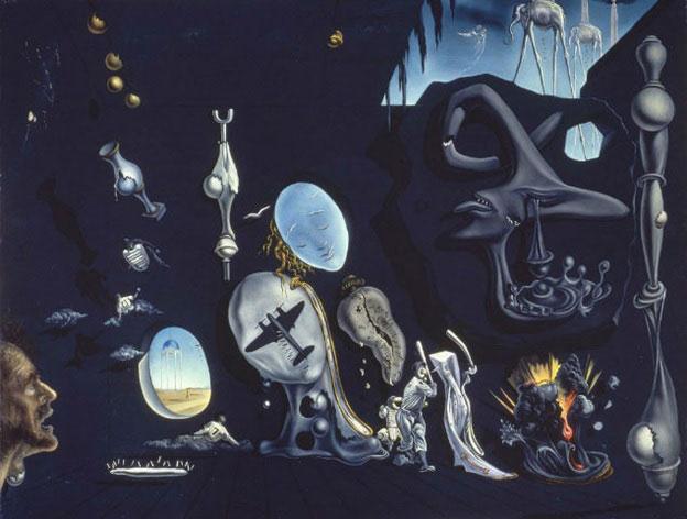 Salvador Dalí - Uranium and Atomica Melancholica Idyll (1945) UraniumandAtomicaMelancholicaIdyllpsychologynowgr es8