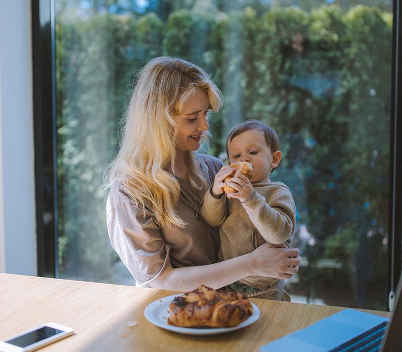 παιδί του οποίου η διατροφή στην παιδική ηλικία έχει επίδραση για μια ζωή
