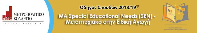 Μητροπολιτικό ma special education